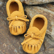Moccasins Handmade Native Indian Leather Moccasins Wolf Den
